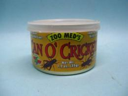 ZOO MED CAN O'CRICKETS(コオロギ缶)カンオークリケット