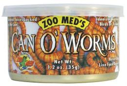 ZOO MED CAN O'WORMS(ワーム缶)カンオースーパーワーム