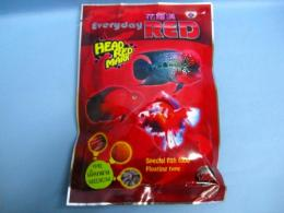 "Everyday RED 花羅漢 ""HEAD RED MARK (M) 120g ""フラワーホーン用"